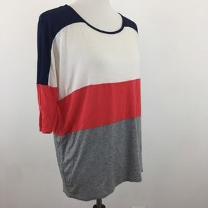 Forever 21 Colorblock Tunic - Size Small